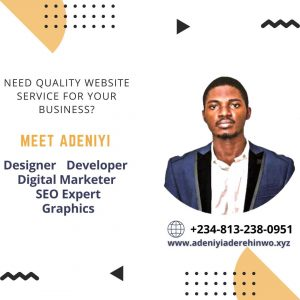 Adeniyi aderehinwo website designer