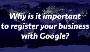 Why register with google