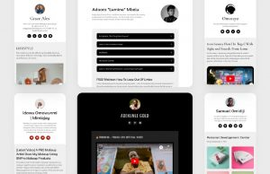 how to create beautiful website pages with disha page tuplea concepts