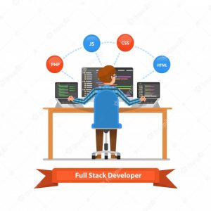 full-stack-developer-is-working-computers