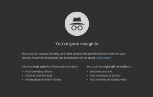 browser incognito mode
