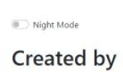 web night mode code tuplea concepts
